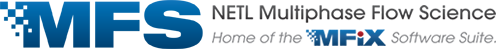 NETL Flow Science Software Support